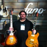 NAMM 2014: Fano Guitars Alt de Facto TC6 Carved Top